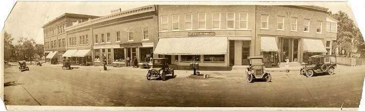 Downtown Richmond in the 1920s